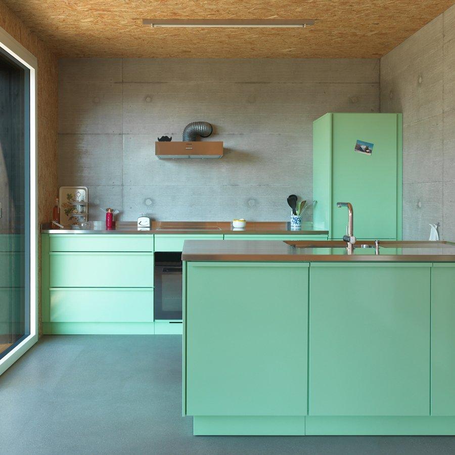 popstahl k chen aus 100 stahl the amazing crocodile. Black Bedroom Furniture Sets. Home Design Ideas