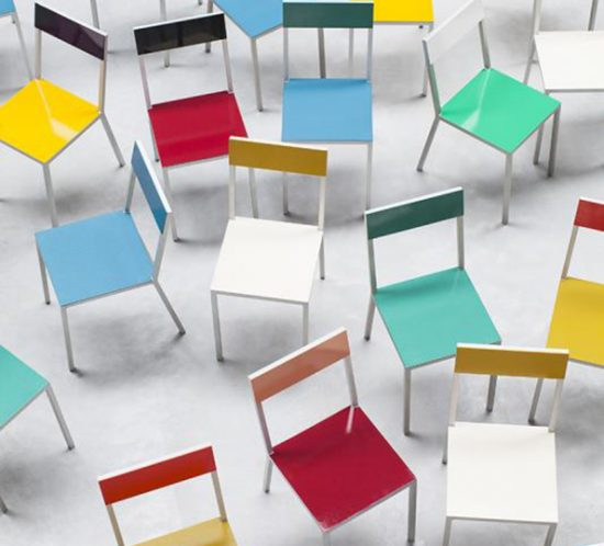 Muller van Severen f Valerie Objects alu chairs viele 3