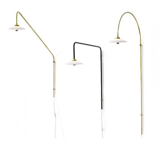 Muller van Severen f Valerie Objects hanging lamps brass