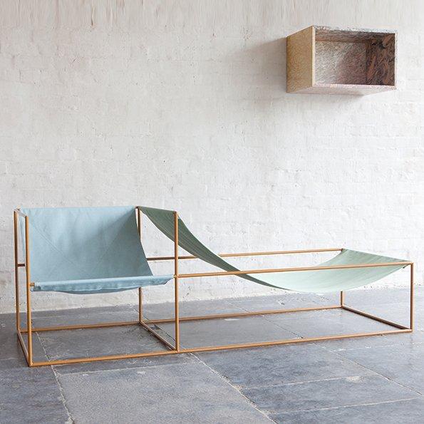 Muller van Severen f Valerie Objects Seat green