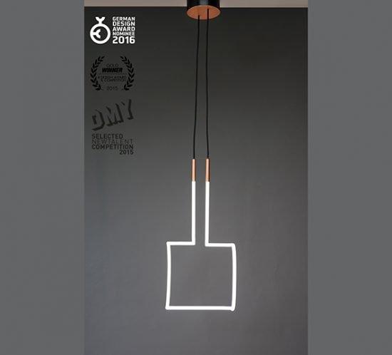 Lampe Vary von Florian Freihöfer Ansicht Quadrat