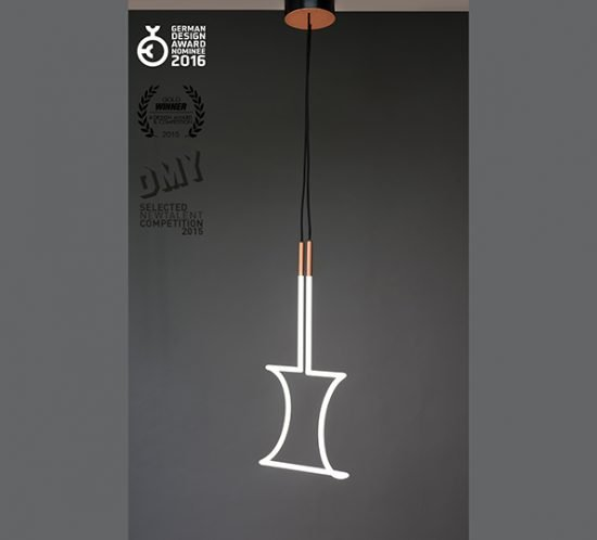 Lampe Vary von Florian Freihöfer Ansicht Seite