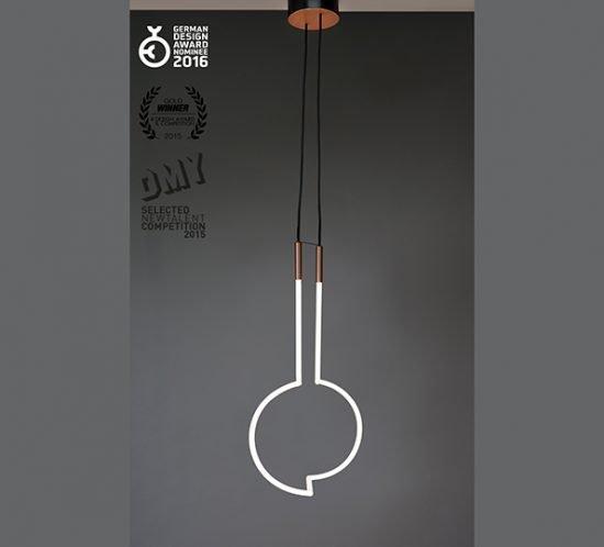 Lampe Vary von Florian Freihöfer Ansicht Kreis