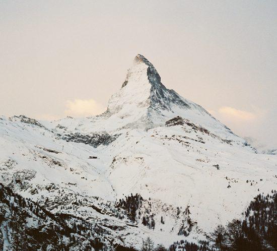Anna von Gwinner Siebdruck Matterhorn