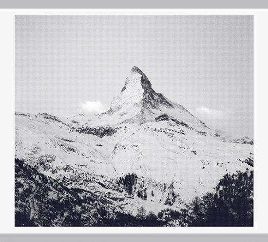 Siebdruck Matterhorn von Anna von Gwinner sw