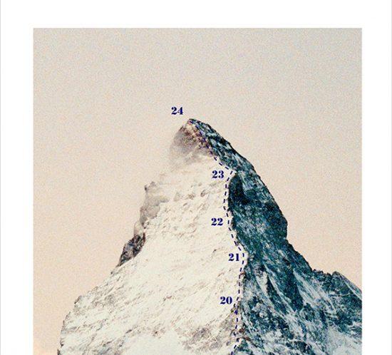 Anna von Gwinner Adventskalender Matterhorn oben