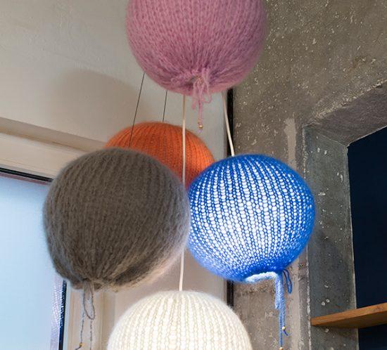 Lampenschirme gestrickt von Maiami
