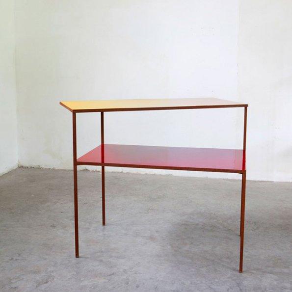 Muller van Severen Double Desk red