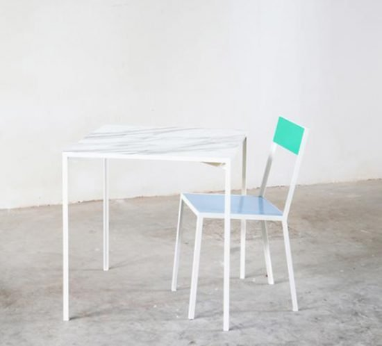 Muller van Severen marble tableS first chair