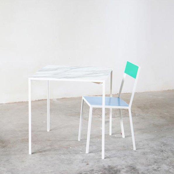 Muller van Severen marble tableS first chair