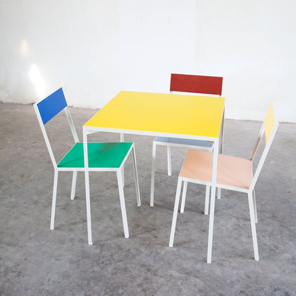 Muller van Severen_tableS_Yellow_first chairs